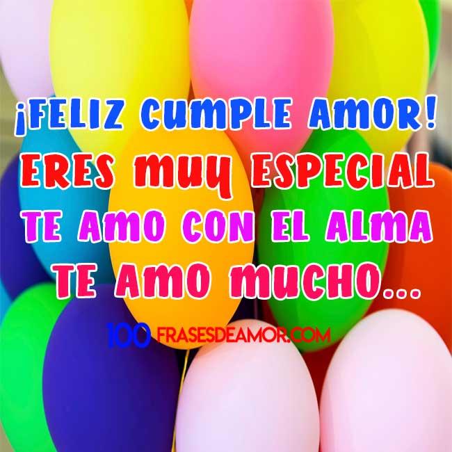 feliz cumpleaños mi amor para hombres